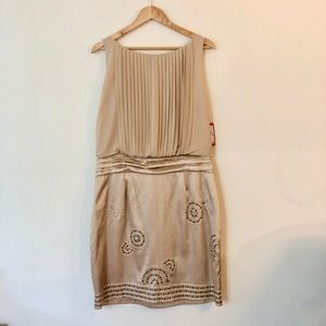 VINCE CAMUTO Gold Cocktail dress